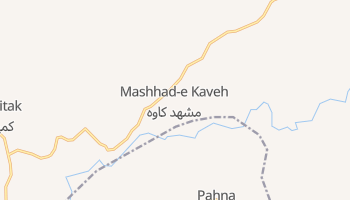 Carte en ligne de Mashhad