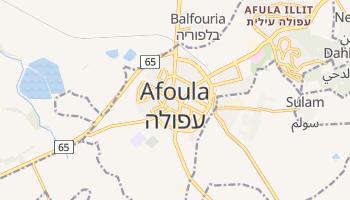 Carte en ligne de Afoula