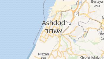 Carte en ligne de Ashdod