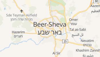 Carte en ligne de Beer-Sheva