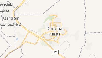 Carte en ligne de Dimona