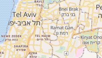 Carte en ligne de Givatayim