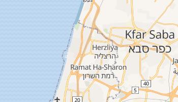 Carte en ligne de Herzliya