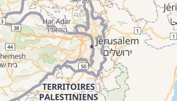 Carte en ligne de Jérusalem