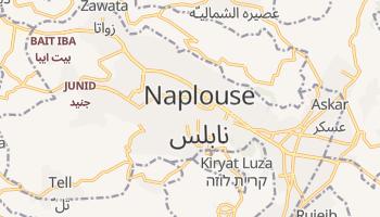 Carte en ligne de Naplouse