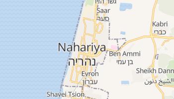 Carte en ligne de Nahariya