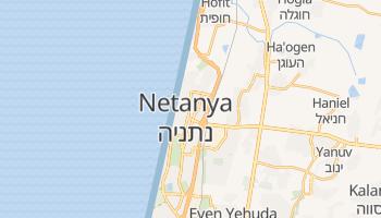Carte en ligne de Netanya