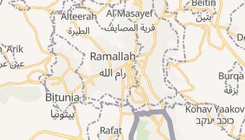 Carte en ligne de Ramallah