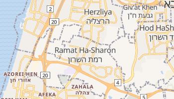Carte en ligne de Ramat Ha-Sharon