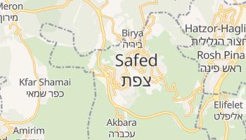 Carte en ligne de Safed