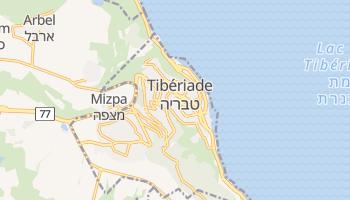 Carte en ligne de Tibériade