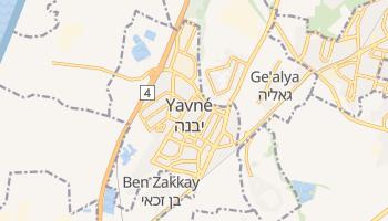 Carte en ligne de Yavné