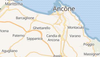 Carte en ligne de Ancône