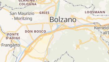 Carte en ligne de Bolzano