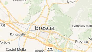 Carte en ligne de Brescia