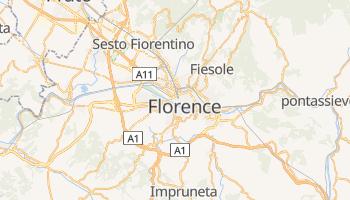 Carte en ligne de Florence