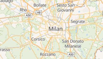 Carte en ligne de Milan