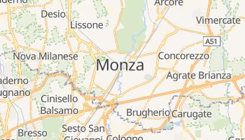 Carte en ligne de Monza