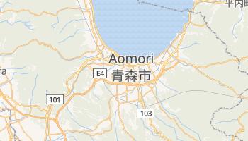 Carte en ligne de Aomori