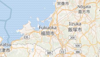 Carte en ligne de Fukuoka