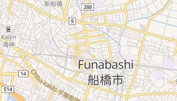 Carte en ligne de Funabashi