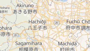 Carte en ligne de Hachiōji
