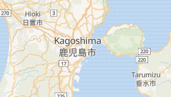 Carte en ligne de Kagoshima