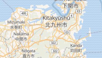 Carte en ligne de Kitakyūshū