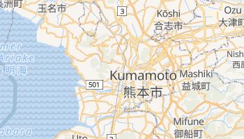 Carte en ligne de Kumamoto