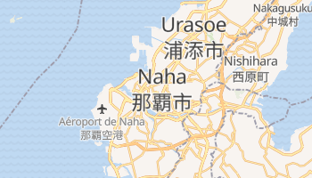 Carte en ligne de Naha