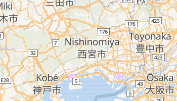 Carte en ligne de Nishinomiya