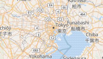 Carte en ligne de Tokyo