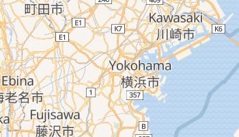 Carte en ligne de Yokohama