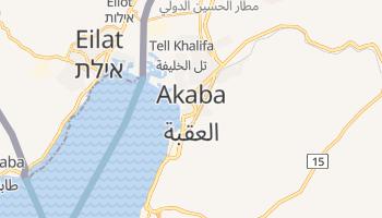 Carte en ligne de Aqaba