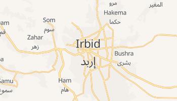 Carte en ligne de Irbid