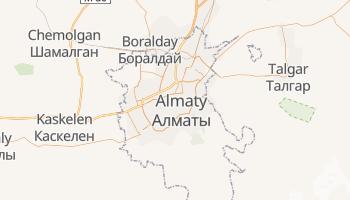 Carte en ligne de Almaty