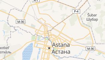 Carte en ligne de Astana