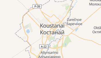 Carte en ligne de Koustanaï