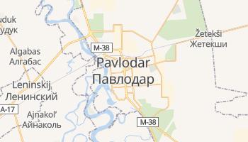 Carte en ligne de Pavlodar