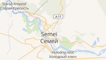 Carte en ligne de Semeï