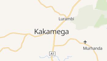 Carte en ligne de Kakamega