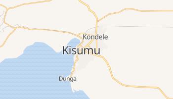 Carte en ligne de Kisumu