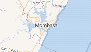 Carte en ligne de Mombasa