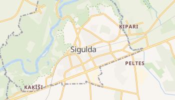 Carte en ligne de Sigulda