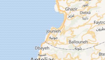 Carte en ligne de Jounieh