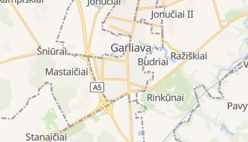 Carte en ligne de Garliava