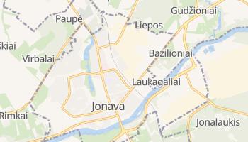 Carte en ligne de Jonava
