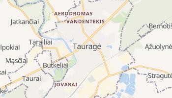 Carte en ligne de Tauragė