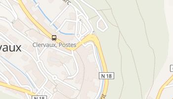 Carte en ligne de Clervaux
