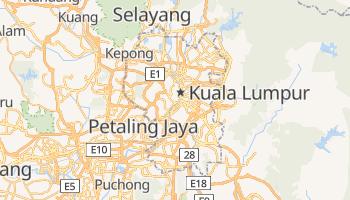 Carte en ligne de Kuala Lumpur